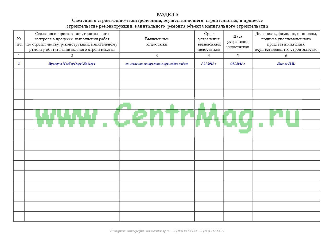 Журнал производства земляных работ рд 39-00147105-015-98