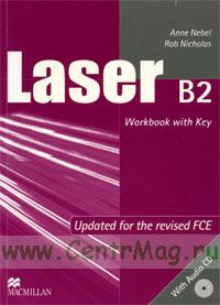 Laser B2 Workbook with Key + CD