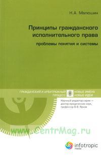 Принципы гражданского исполнительного права: проблемы понятия и системы
