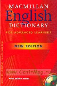 Macmillan English Dictionary. For advanced learners + CD
