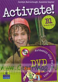 Activate! B1 Students' Book + DVD (authentic clip for every unit)