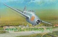 Модель-копия из бумаги самолета Jak-17W
