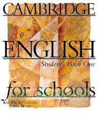 Cambridge English for schools. Student's Book One (1)
