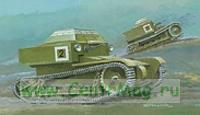 Модель-копия из бумаги танка T - 27