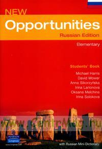 New Opportunities Russian Edition. Elementary. Students' Book + mini dictionary