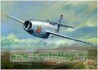 Модель-копия из бумаги самолета Jak-23