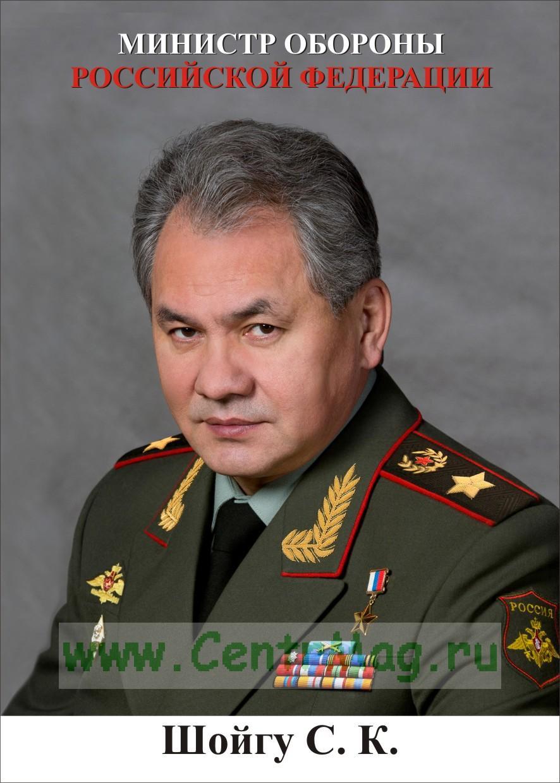 Портрет Министра Обороны РФ Шойгу С.К.