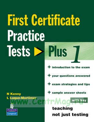 First Certificate Practice Tests Plus 1 + CD