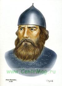 Илья Муромец, портрет