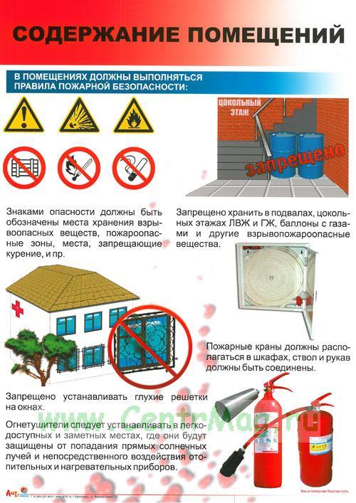 Инструкция По Пожарной Безопасности В Цехе