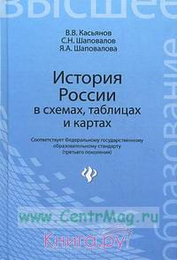 История России в схемах, таблицах и картах: учебное пособие для высшей школы (2-е издание, стереотипное)