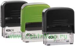 Оснастка для штампа Colop Printer Compact С20, поле 38х14 мм