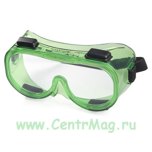 Очки защитные закрытые с непрямой вентиляцией ЗН4 ЭТАЛОН (PC)