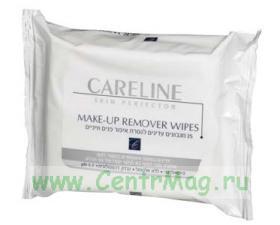 Влажные салфетки для снятия макияжа, 25ш