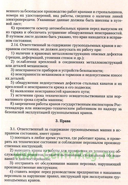 Содержание должностная инструкция