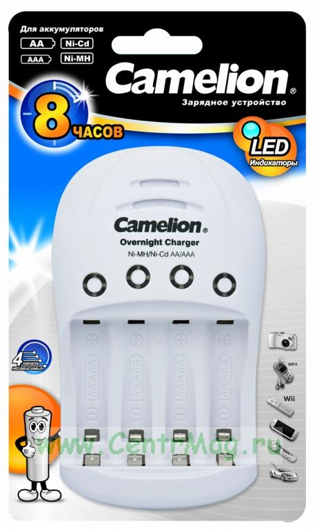 Зарядное устройство camelion bc-1009 (1-2aa/aaa)