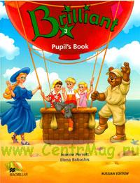 Brilliant 3. Pupil's Book+ CD