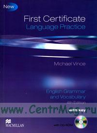 First Certificate Language Practice. English Grammar and Vocabulary with key + CD. (4th edition)