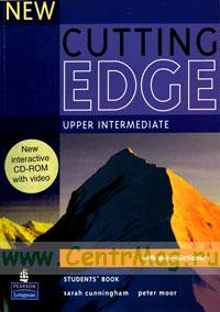 New Cutting Edge Upper Intermediate. Student's book+ mini-dictionary + CD