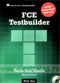 FCE Testbuilder. Test that Teach + 2 CD with key