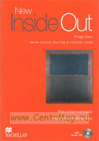 New Inside Out. Pre-Intermediate. Workbook with key + CD