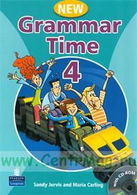 New Grammar Time 4 with multi-ROM (CD)
