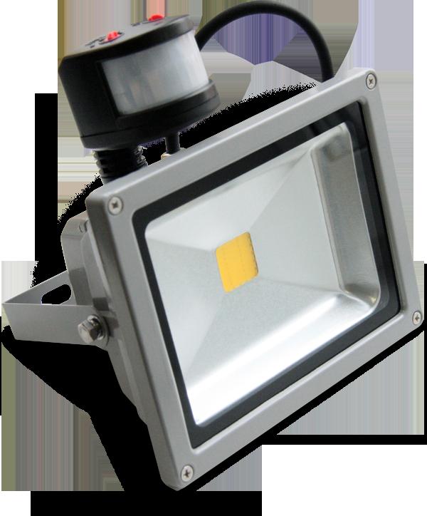 Светодиодный прожектор XF-FL-PIR-20W-4K