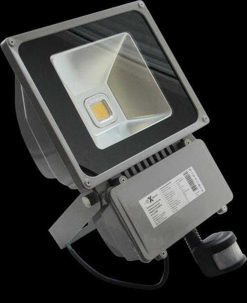 Светодиодный прожектор XF-FL-PIR-80W-4K