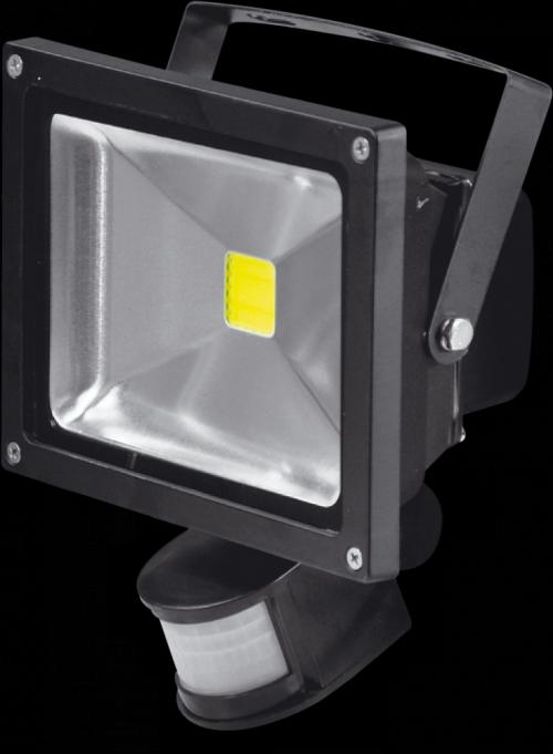 Светодиодный прожектор XF-FL-B-PIR-20W-4000K