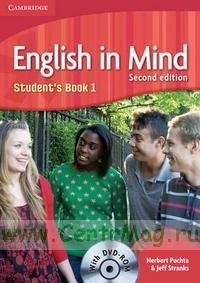 English in Mind 1. Student's Book+DVD