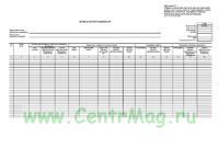 Журнал регистрации карт (форма КФД 0531843)