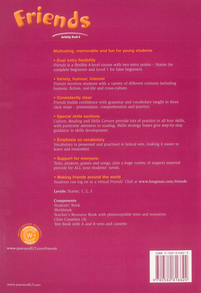 Friends Activity Book 3