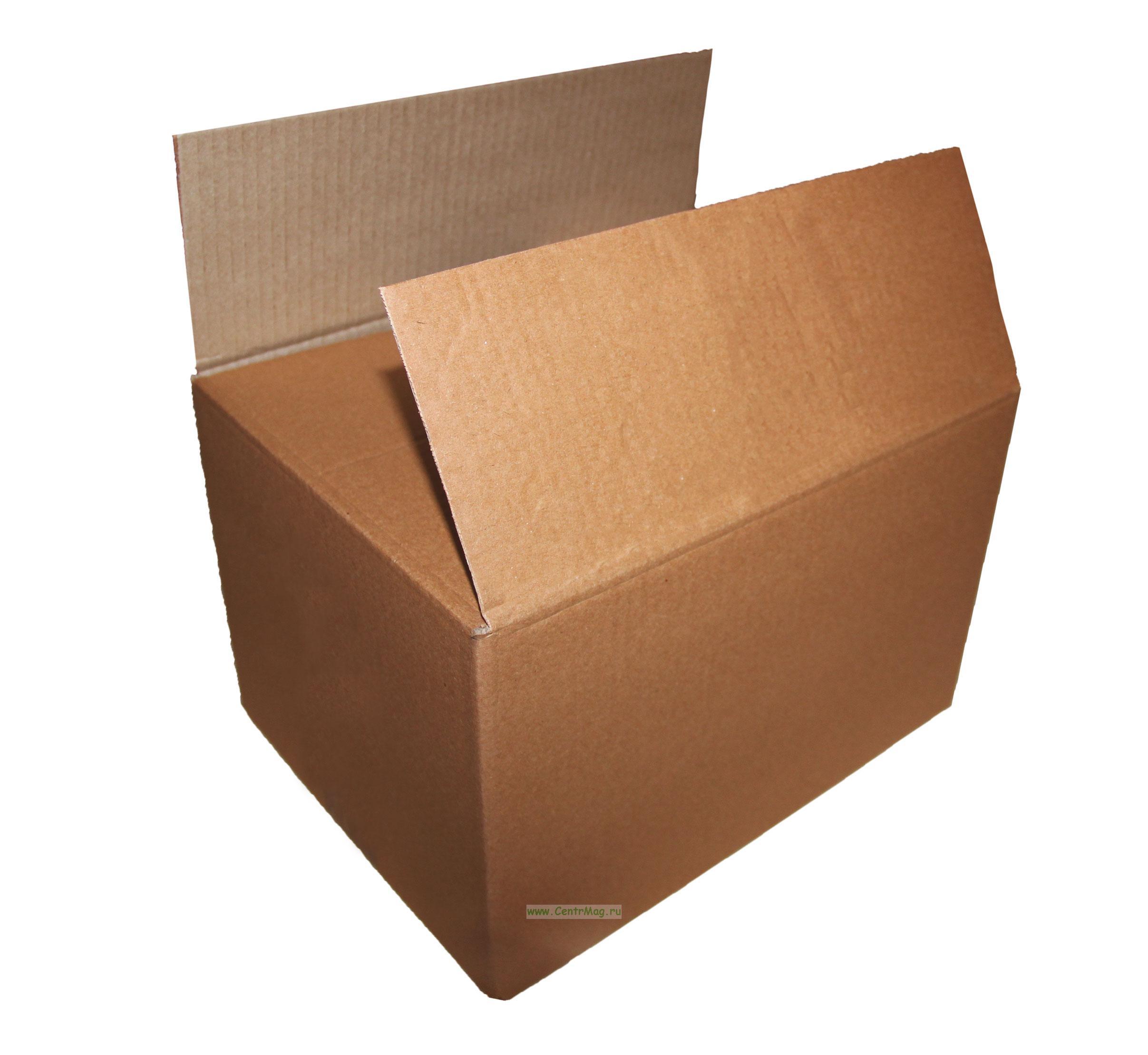 Четырехклапанная коробка из 3-х слойного гофрированного картона