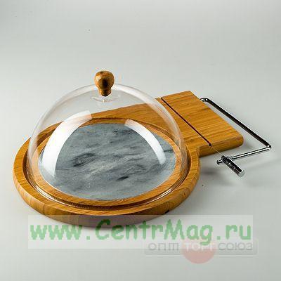 Сырорезка 33,5*24*14,5 см с сырницей