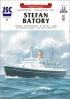 Модель-копия из бумаги корабля Stefan Batory
