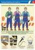 """Комплект плакатов """"Требования безопасности для слесаря–сантехника """". (2 листа, ламинат)"""