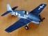 Модель-копия из бумаги самолета Grumman F6F-3 HellCat. Масштаб 1:50