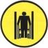 Осторожно! Ограниченная ширина прохода. Знак