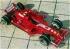 Модель-копия из бумаги гоночного автомобиля FERRARI F-2007