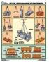 """Комплект плакатов """"Строповка и складирование грузов"""". (4 листа)"""
