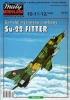 Модель-копия из бумаги самолета Су-22