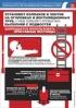 """Комплект плакатов """"Безопасность при производстве кровельных работ"""". (3 листа, ламинат)"""
