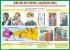 """Комплект плакатов """"Действия населения при авариях и катастрофах"""". (10 листов, 30х41 см)"""