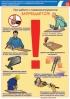 """Комплект плакатов """"Охрана труда при работе с пневматическим инструментом"""". (5 листов, ламинат)"""