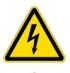 Опасность поражения электрическим током. Знак