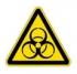 Осторожно! Биологическая опасность (Инфекционные вещества). Знак