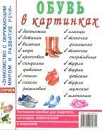 Обувь в картинках: наглядное пособие для педагогов, логопедов, воспитателей и родителей
