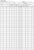 Журнал тахеометрической съемки. Форма УТ-29
