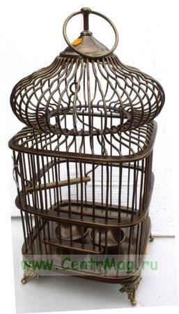 Необходимо купить для птицы — клетка