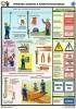 """Комплект плакатов """"Средства защиты в электроустановках. (3 листа)"""